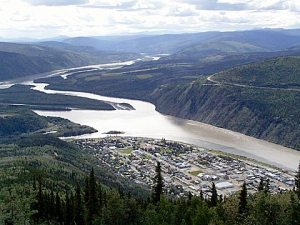 Dawson City and the Yukon River